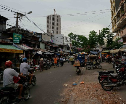 Binh Tay Market in China Town Cholon District 5