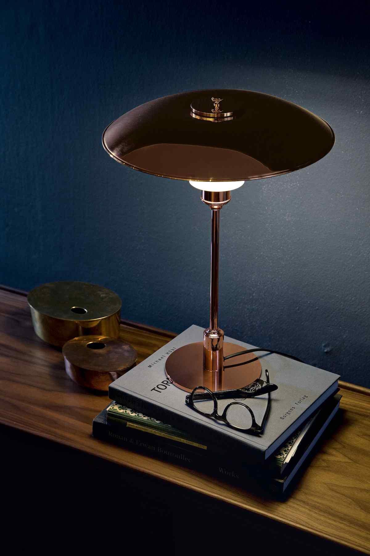 louis poulsen ph 3 2 kupfer tischleuchte limitedt. Black Bedroom Furniture Sets. Home Design Ideas