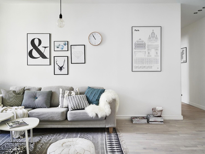 Skandinavisches design wohnzimmer: der skandinavische ...