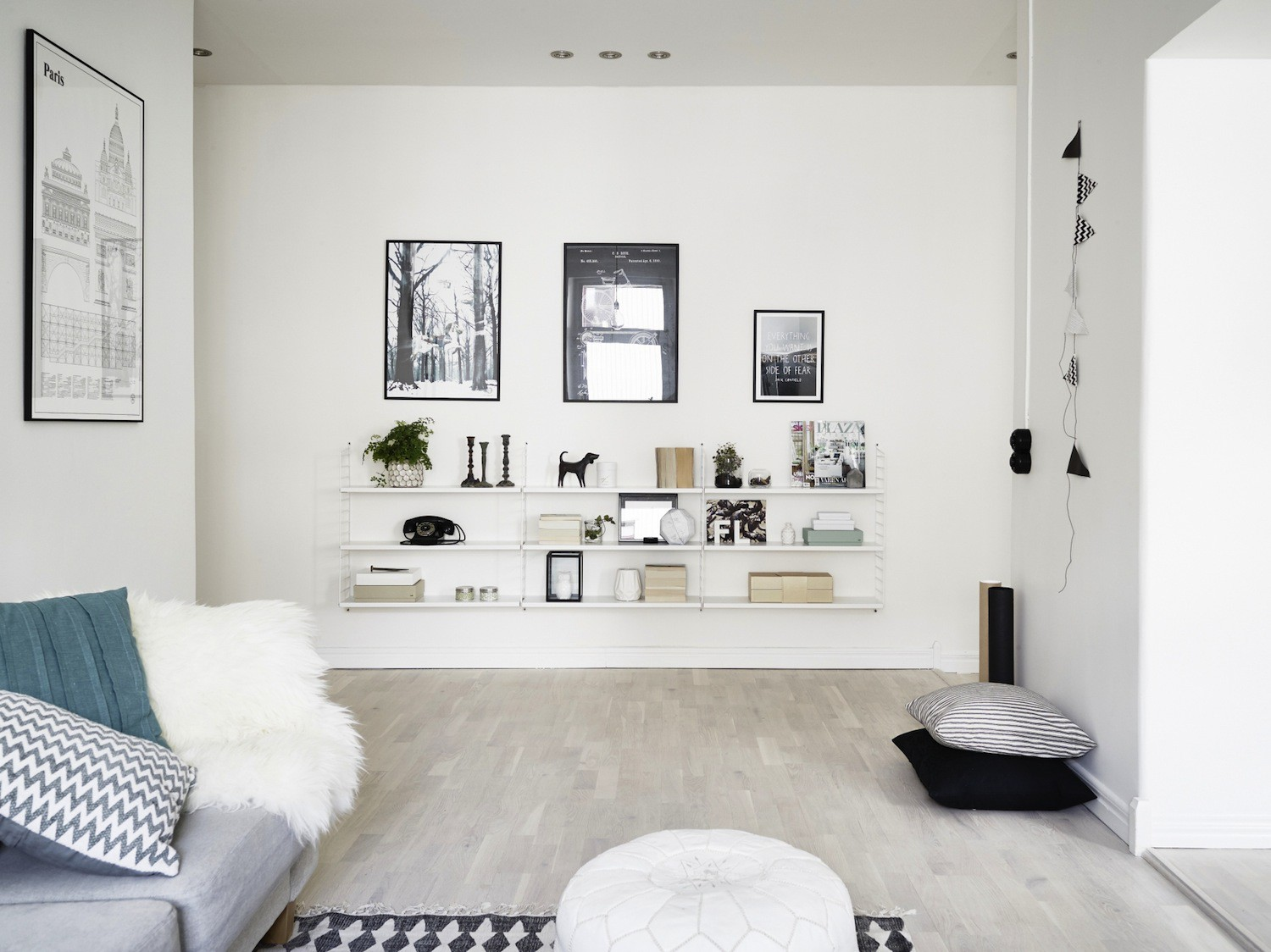 Wohnzimmer Design Ideen Ikea Wohnwand Holz Pictures to pin on ...