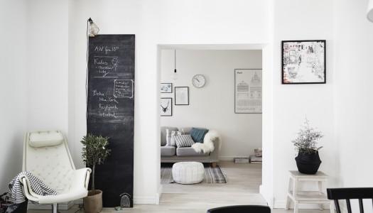 Wohninspiration – Wohnzimmer mit nordischem Touch