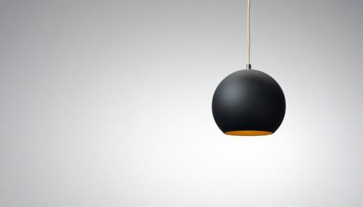 Designerlampen in Schwarz Gold