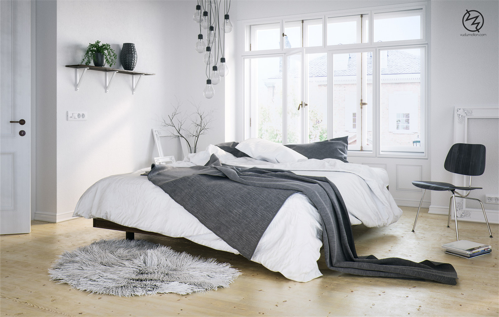 Skandinavisches schlafzimmer inspiration designs2love - Schlafzimmer inspiration ...