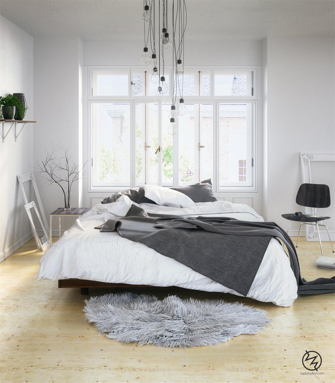 Skandinavisches Schlafzimmer Inspiration - Designs2love