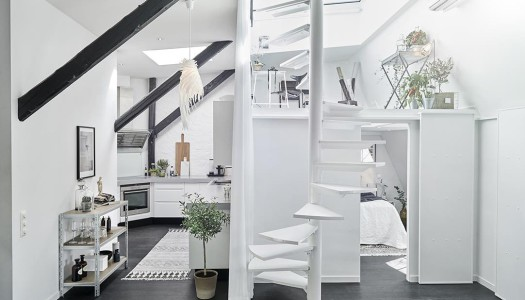 Dänische Maisonette Wohnung