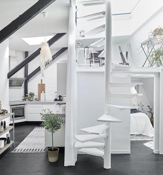 Wohninspiration wohnung mit dunklen wandfarben designs2love - Wohnung inspiration ...