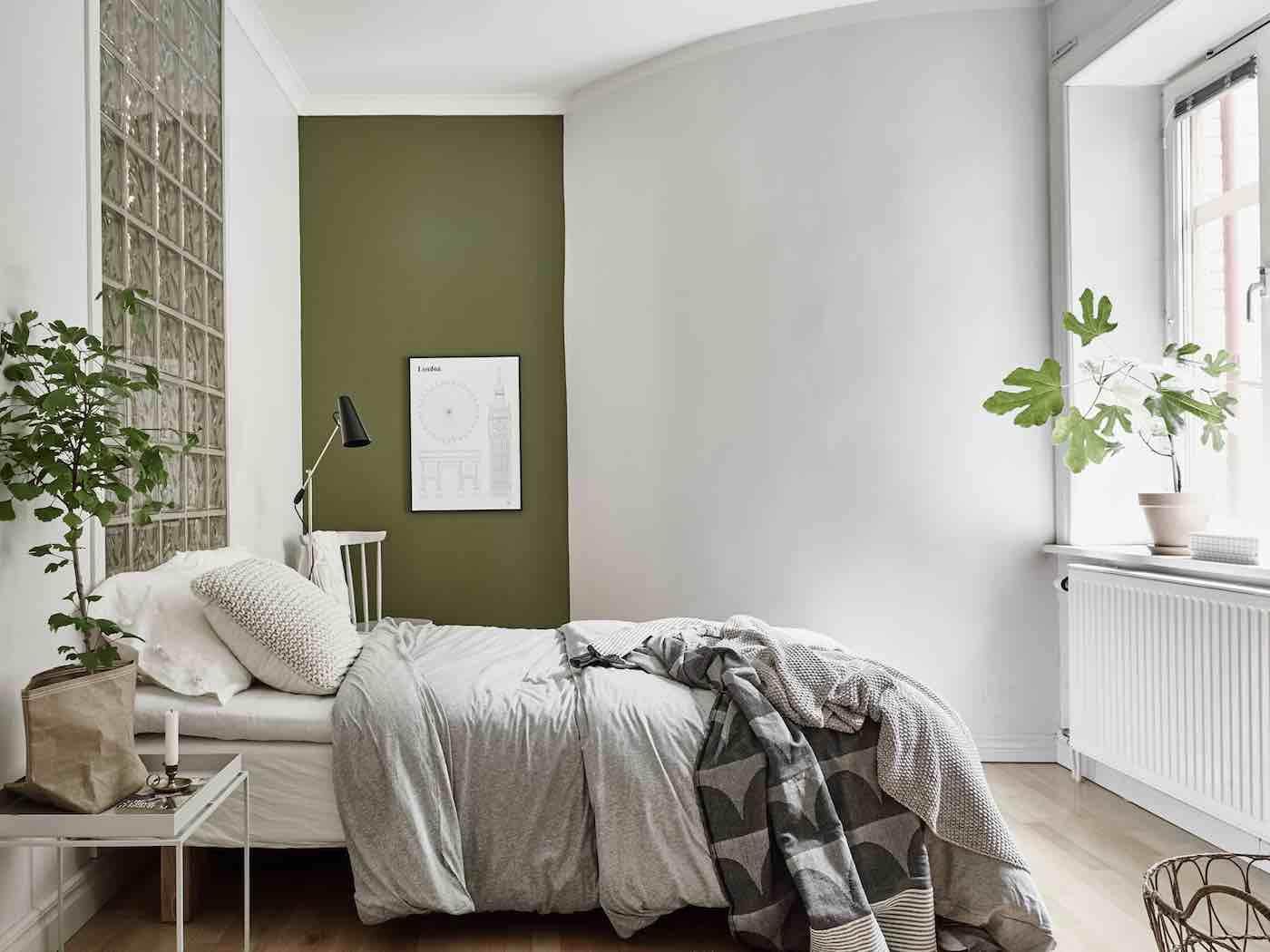 Schlafzimmer graue wand – midir