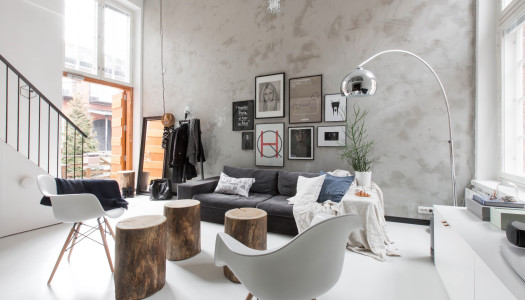 Finnisches Designer Loft