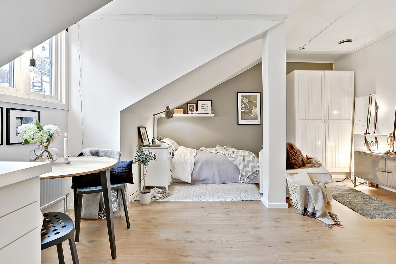 Kleine aber feine 1 zimmer wohnung designs2love Zimmer einrichtungen