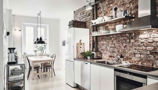 Weekend-Inspiration: Moderne Wohnung mit rustikalen Elementen
