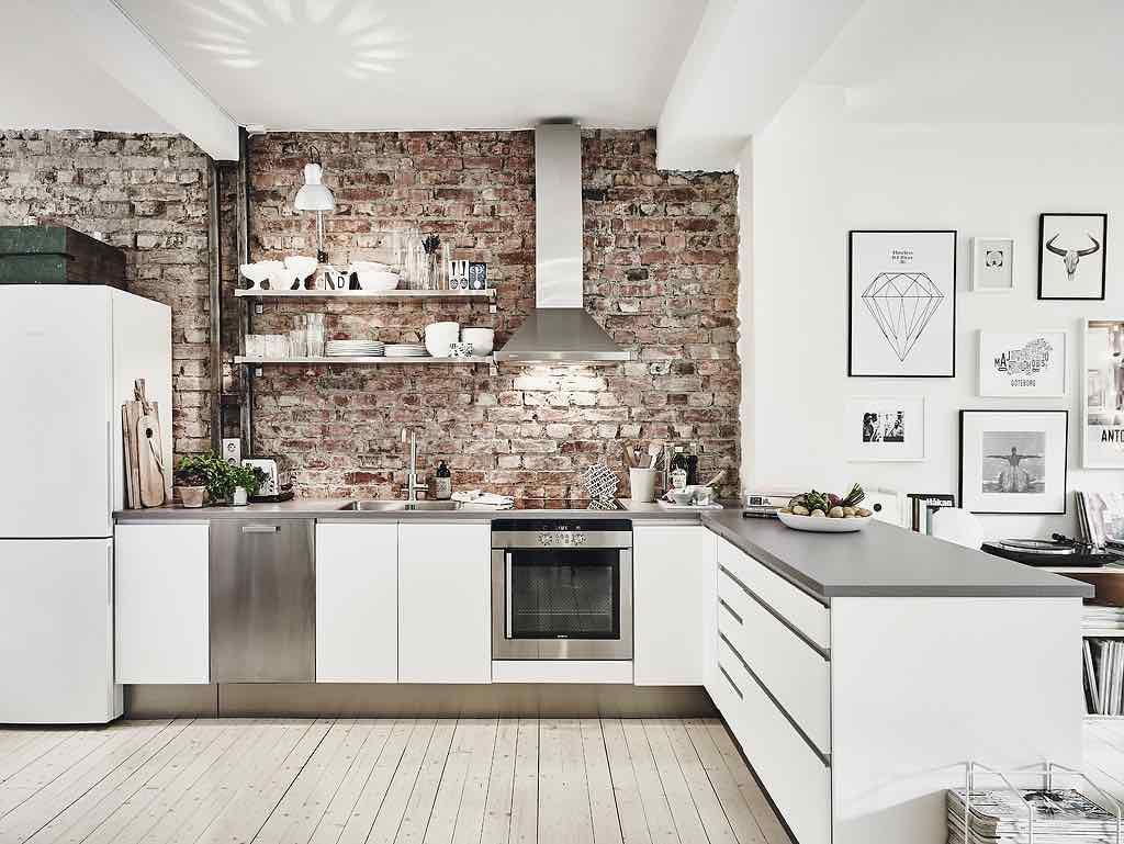 Weekend inspiration: moderne wohnung mit rustikalen elementen ...