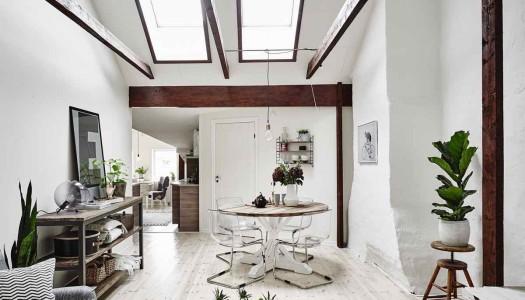 Schickes Dachgeschoss-Loft im Stilmix