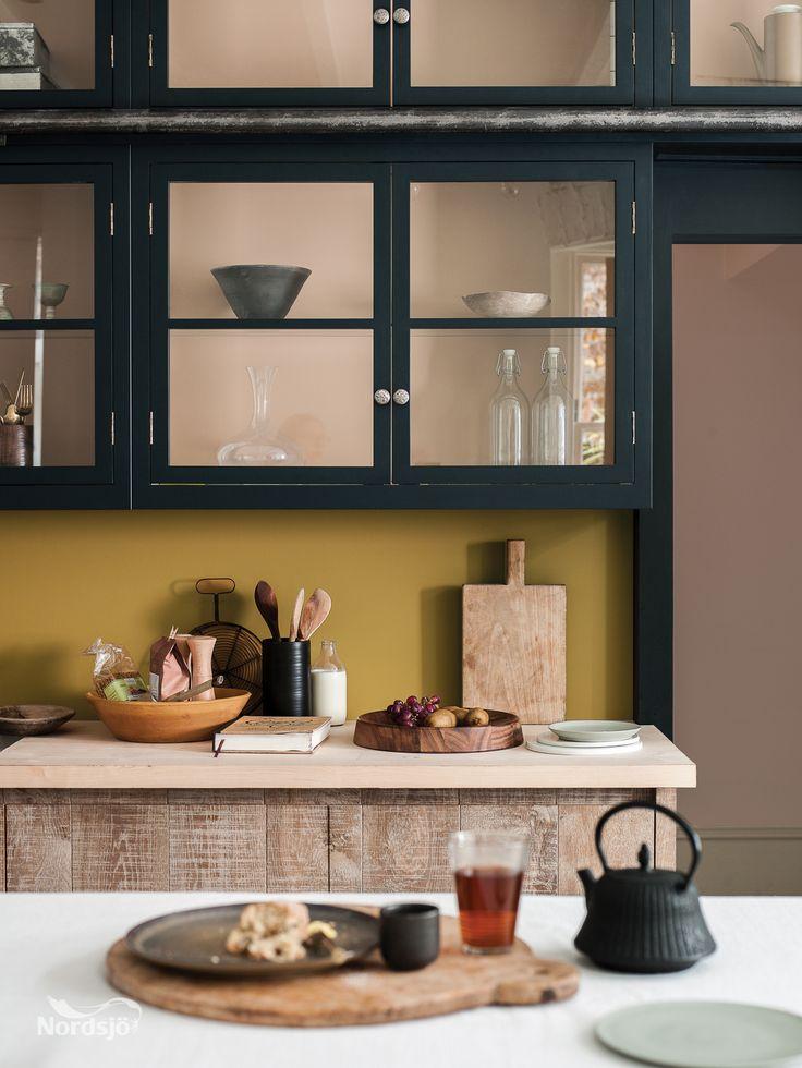 Markant Wandfarben Wohnzimmer Gold Idee