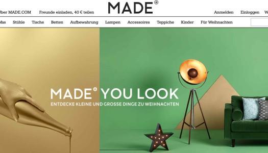 Made.com Erfahrungen und Testbericht