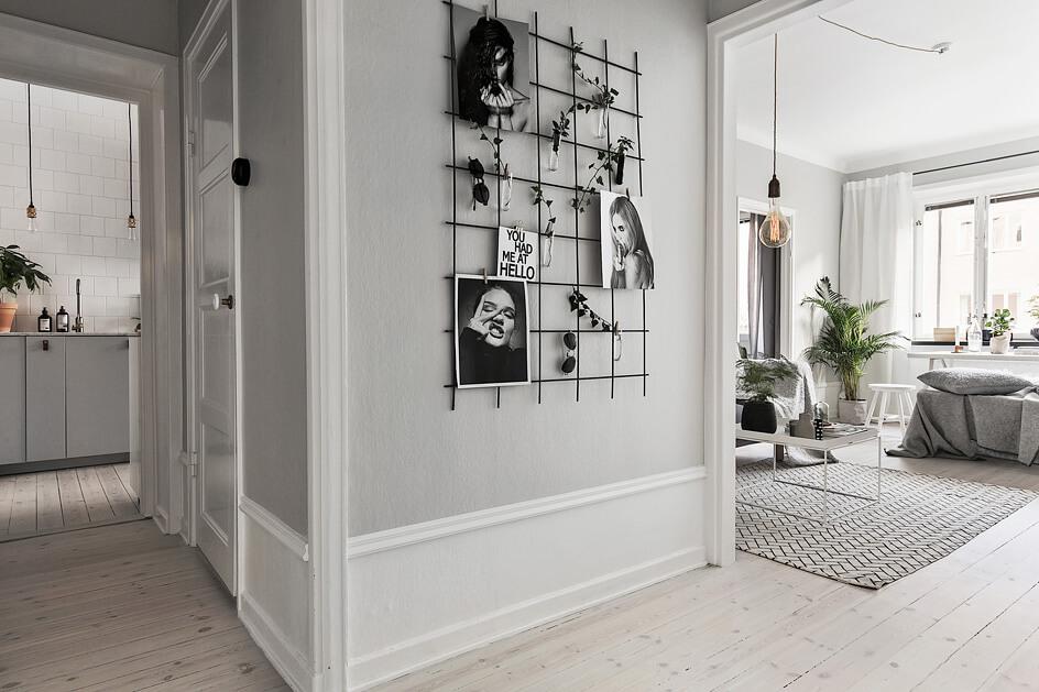 Grau ist das neue wei wohninspiration designs2love - Moderne pinnwand ...