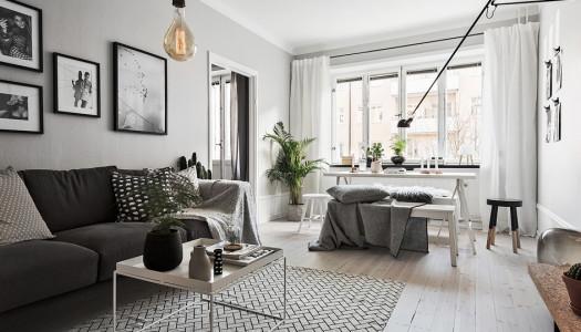 Grau ist das neue Weiß – Wohninspiration