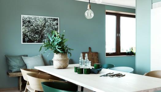 Wohninspiration in schönen Grüntönen