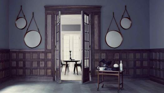 Runde Wandspiegel als Wohnaccessoire