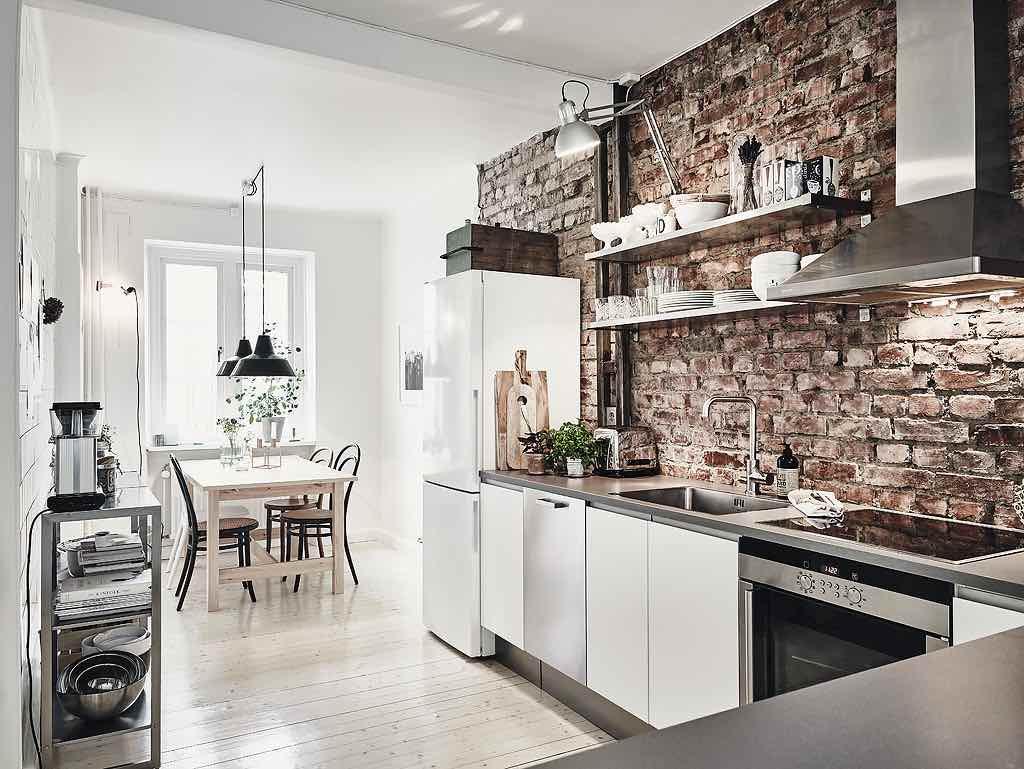 Weekend-Inspiration: Moderne Wohnung Mit Rustikalen