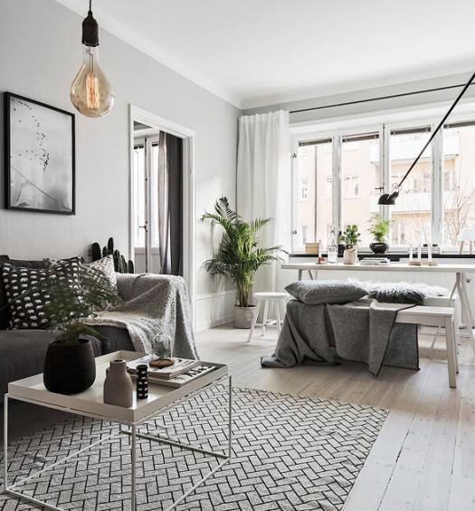 Wohnzimmer grau wei modern die neuesten innenarchitekturideen - Kuche gemutlich dekorieren ...